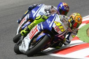 Rossi and Lorenzo, Catalunaya MotoGP Race 2009