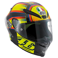 AGV Rossi Pista GP Soleluna