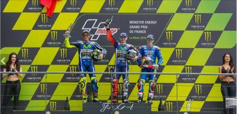 Le Mans Podium